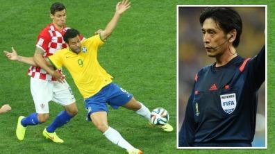 Fotbolls-VM 2014, Dag 1, Brasilien - Kroatien